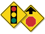 Advance Traffic Control Signs
