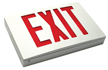 The Admiral Die-Cast LED Exit Sign