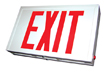 UL 924 Exit Sign, Double Faced Standard