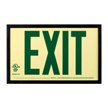 Framed Exit Sign