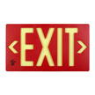 Molded Plastic Exit Sign